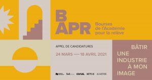 Bourses de l'Académie pour la relève – Appel de candidatures jusqu'au 18 avril 2021