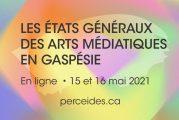 15-16 mai 2021 en ligne : premiers États généraux des arts médiatiques en Gaspésie