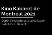 Réaliser un film au Kabaret 2021 et Projection Kino avril 2021