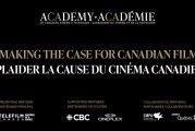 L'Académie canadienne du cinéma et de la télévision - Plaider la cause du cinéma canadien le 13 mai 2021