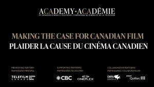 L'Académie canadienne du cinéma et de la télévision – Plaider la cause du cinéma canadien le 13 mai 2021