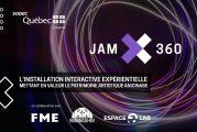 Les Appels de projets sont ouverts pour JAM 360 !