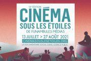 Cinéma sous les étoiles dévoile sa programmation et offre 32 projections en plein air dans 10 parcs montréalais cet été!