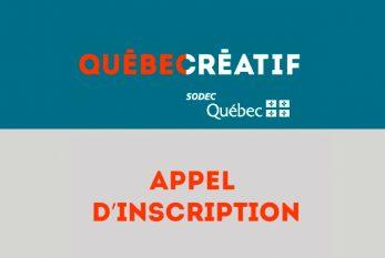 MIPCOM 2021 | Ouverture des inscriptions sous le pavillon Québec créatif