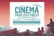Cinéma sous les étoiles se poursuit en ligne jusqu'au 2 septembre 2021