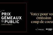 Prix Gémeaux du public Fonds Cogeco : Votez pour votre émission coup de cœur de l'année!
