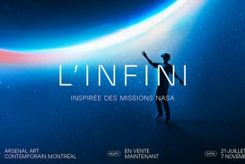 PHI: L'INFINI à Montréal: l'activité must de l'été