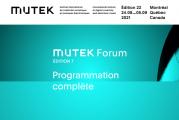 Découvrez la programmation complète de MUTEK Forum
