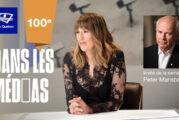 Télé-Québec - 100e émission de Dans les médias ce mercredi 29 septembre à 21 h