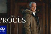 Télé-Québec présente le mercredi 29 septembre 2021 à 20 hle documentaire «Le procès »