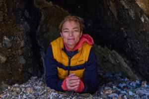 Nathalie Lasselin fait l'exploration sous-marine du réservoir Manicouagan