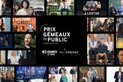 Prix Gémeaux du public Fonds Cogeco : Dévoilement des 20 émissions finalistes !