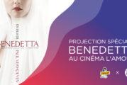 #CINEMANIA2021 : BENEDETTA au Cinéma L'Amour, séance spéciale Halloween